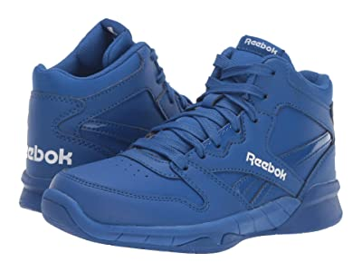 Reebok Kids BB4500 Hi 2 (Little Kid/Big Kid) (Blue/White) Kids Shoes