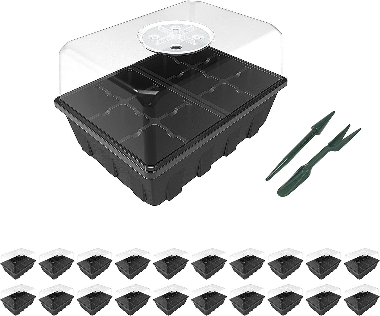 Gardzen 20-Set Garden Propagator Super popular specialty store Set 240-Ce Tray with Kits Seed Same day shipping