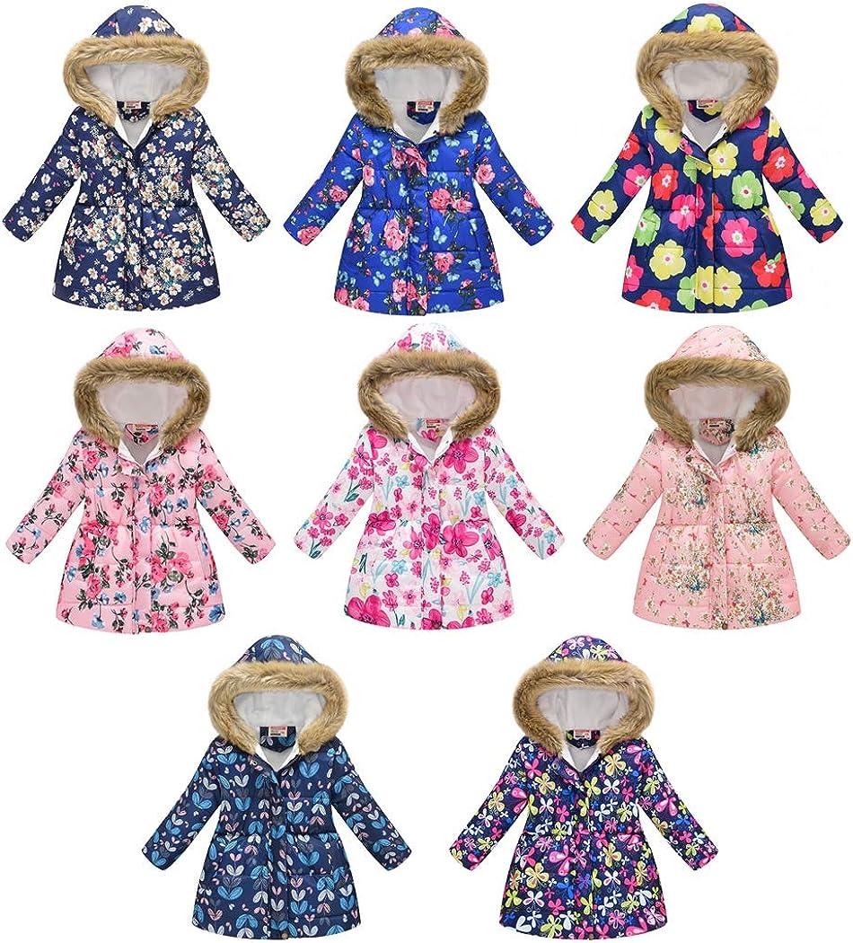 Kehen- Kid's Winter Parka 5% OFF Outwear A surprise price is realized Warm Fur Hooded Windpro Collar