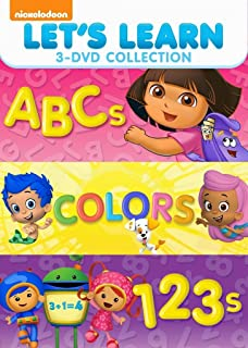 Let's Learn 3 Pack: 123s & Abcs & Colors