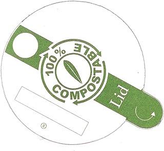Elaia Zait Tapa compostable para Vaso compostable de cata de Aceite de Oliva. 500 uds.
