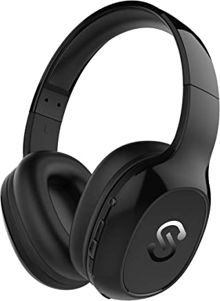 Cascos Bluetooth 4.1 SoundPEATS A2 Auriculares de Diadema Inalámbricos Over-ear con Micrófono Manos Libres Bass Potente 20 Horas de Duración Súper Cómodos para PC/TV/IOS/Android