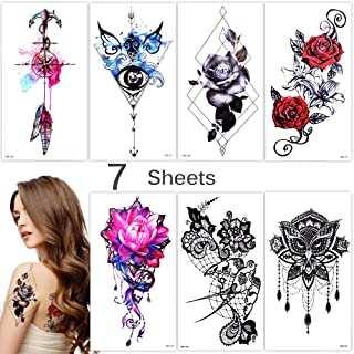 Best large fake tattoos that look real Reviews