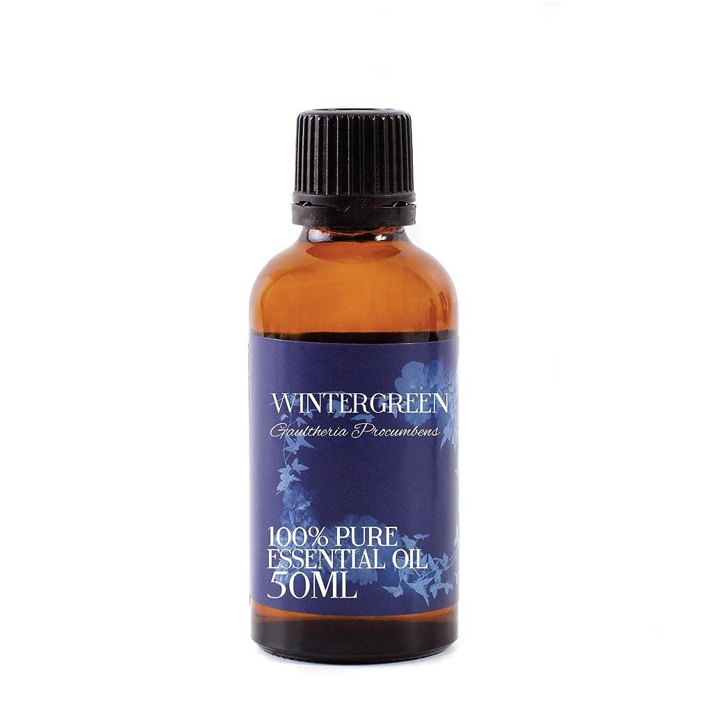 ジャーナリストインチ喜ぶMystic Moments | Wintergreen Essential Oil - 50ml - 100% Pure