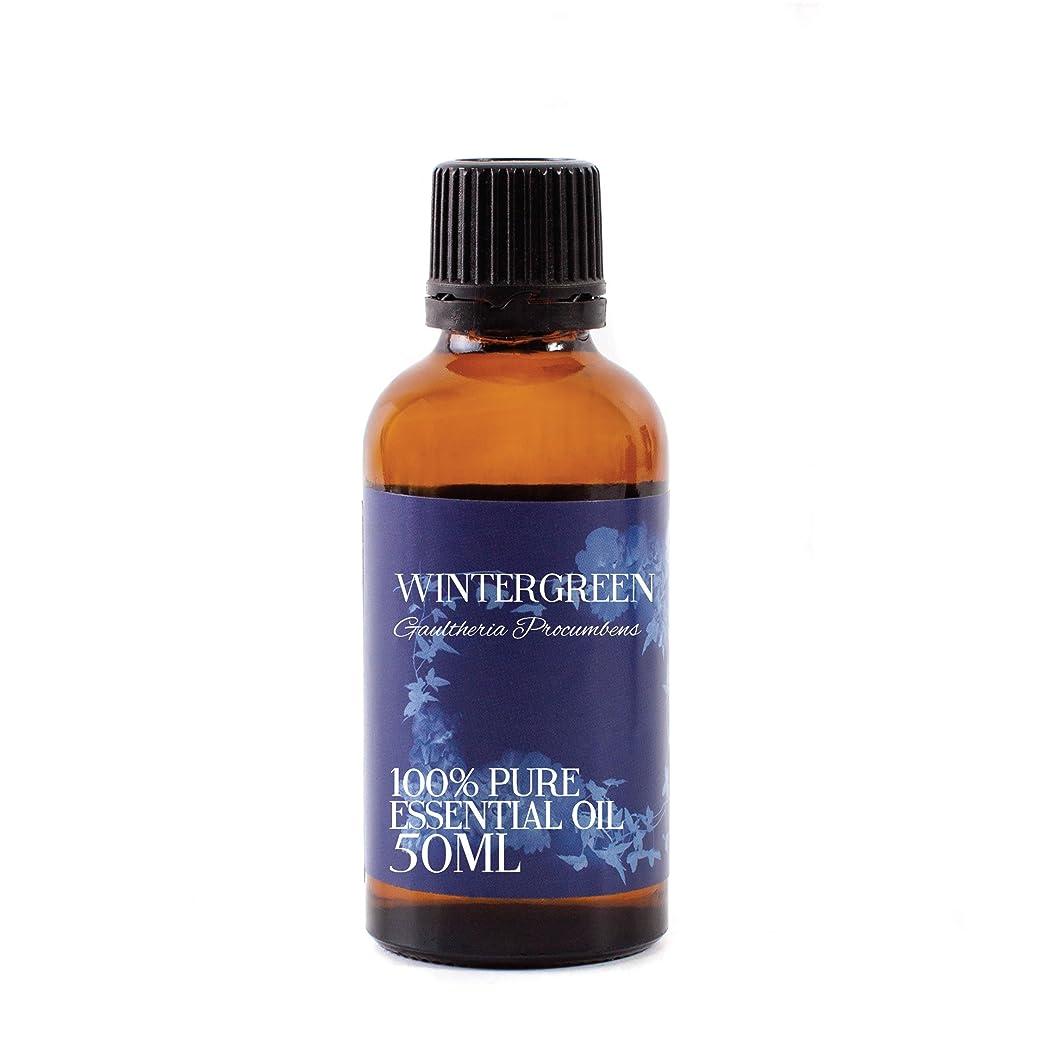 群がるグラフィック肌Mystic Moments | Wintergreen Essential Oil - 50ml - 100% Pure