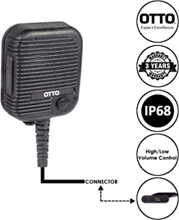 OTTO Evolution Speaker Microphone for Motorola Vertex Standard VX-820 VX-821 VX-824 VX-829 VX-920 VX-921 VX-924 and VX-929 Two Way Radios