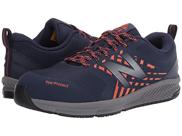 New Balance 412 ESD (Team Navy/Team Orange) Mens Shoes