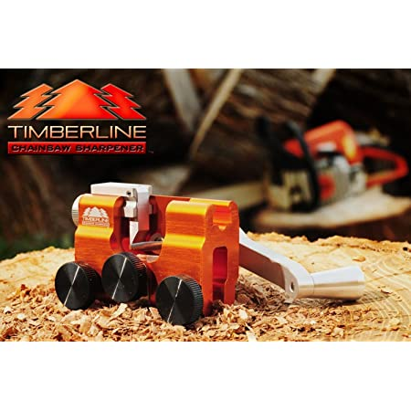 """Timberline Chainsaw Sharpener with 3/16"""" Carbide Cutter (for .325"""" pitch chains)"""