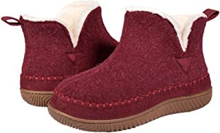 ZIZOR Women's Moccasin Bootie Slippers with Cosy Memory Foam, Ladies' Toasty Slip on House Shoes with Hard Outdoor Indoor ...