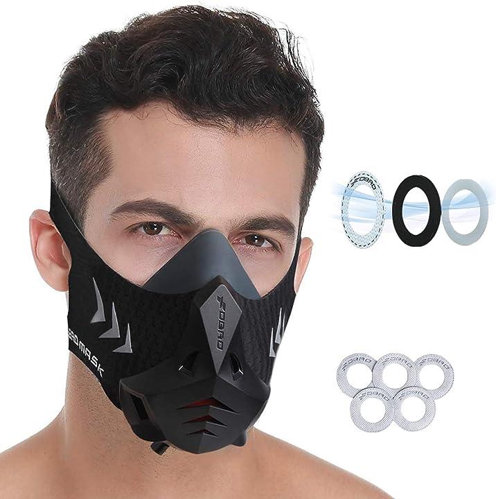 Mascherina per allenamento fitness, corsa, resistenza, cardio fdbro sports mask pro B07ZLTD7LG