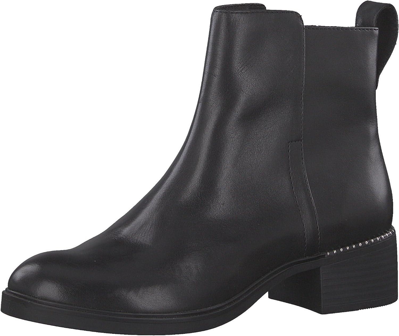 Tamaris Damen Damen Damen Chelsea Stiefel 25335-21,Frauen Stiefel,Halbstiefel,Stiefelette,Stiefelie,Reißverschluss,Blockabsatz 4cm  f46617