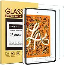 SPARIN [Lot de 2] Compatible avec Verre Trempé iPad Mini 4/5, [Outil D'alignement Facile] Protection Ecran Film Protecteur iPad Mini 4/5, [sans Bulles] [Haut Définition] [2.5D/9H Dureté]