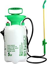 VOXON 5L Pump Action Pressure Sprayer With Pressure Release Valve, Garden Knapsack Sprayer