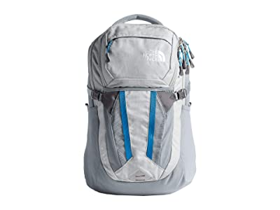 The North Face Recon (High-Rise Grey Light Heather/Clear Lake Blue) Backpack Bags