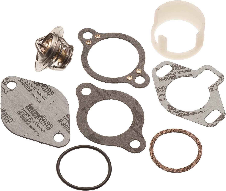Thermostat Kit Sales Spring new work Sleeve Mercruiser 160? 5.7 5.0 4.3 807252Q5 7.4