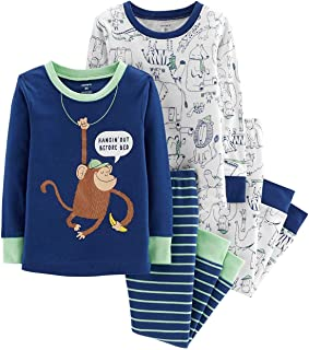 Carter's Boys' 4 Pc Cotton 341g260