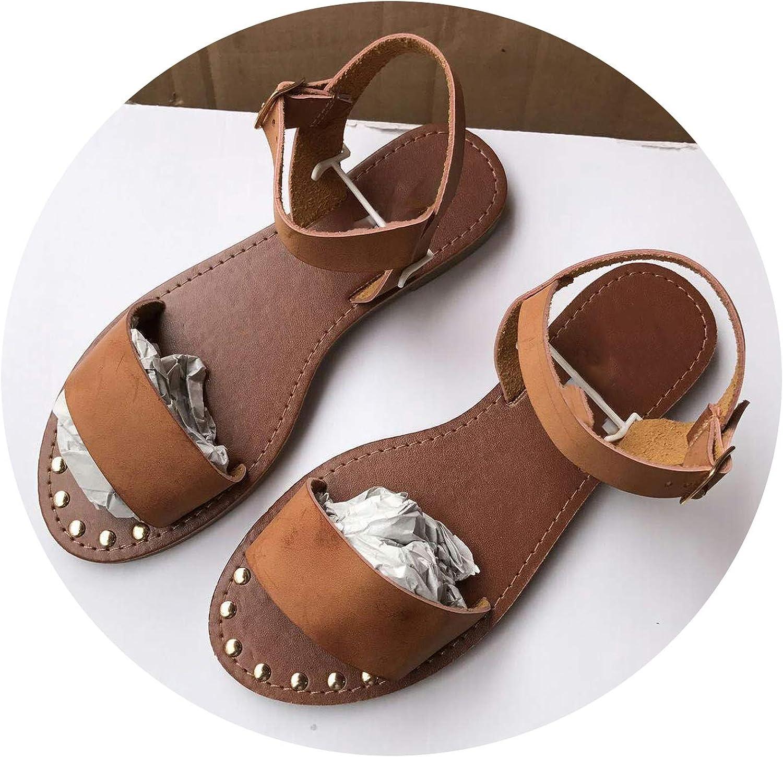 Girl21 Women Sandals New Summer Slip-On Peep Toe Casual Gladiator Footwear shoes Sandalias