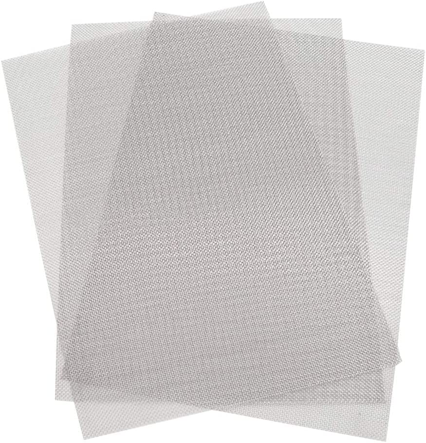 KONIBN 3pcs Stainless Steel Woven Mesa Mall Wire - A4 20 Mesh 30x21 Max 82% OFF 12