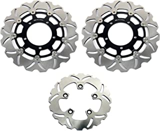 TARAZON Front and Rear Brake Discs Rotors for Suzuki GSXR600 GSXR750 06 07 GSXR 1000 05 08