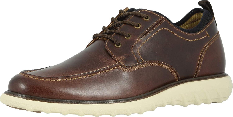Dockers Mens Livingstone Leather Smart Series Dress Casual Oxford Shoe