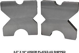"SWAG Off Road Arbor Press Plates (Pair) 8.50"" X 10.00"" X 1.5"""