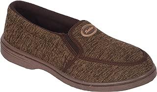 BATA Men Brown Canvas Shoes Classic