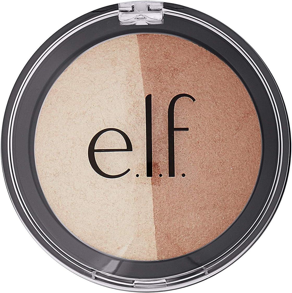 はっきりしないレジすべてE.L.F. Cosmetics, Baked Highlighter & Bronzer, Bronzed Glow, 0.183 oz (5.2 g) -4 Packs