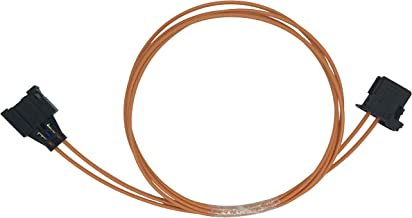 Kweiny MOST Car Fiber Optic Extension Cable for Benz BMW VW Audi Porsche (Length 1m Male To Female)
