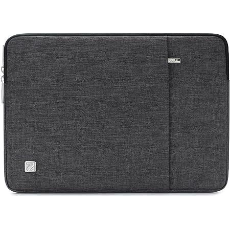 "NIDOO ラップトップスリーブ 防水 衝撃吸収 撥水ケース ノートブック バッグ ノートブック / 12.9"" iPad Pro 2018 / 13"" MacBook Air 2018-2020 / 13"" MacBook Pro 2016-2018 / 12.3"" Surface Pro 6 / 12"" Samsung Galaxy Book2用 (ダークグレー)"
