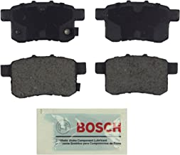 Bosch BE1336 Blue Disc Brake Pad Set for 2009-12 Acura TSX and 2008-10 Honda Accord - REAR