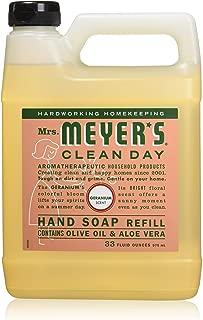 Mrs. Meyer's: Liquid Hand Soap Refill Jug-Geranium, 33 oz