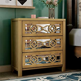Amazon Com Dressers Chests Of Drawers Gold Dressers Bedroom Furniture Home Kitchen