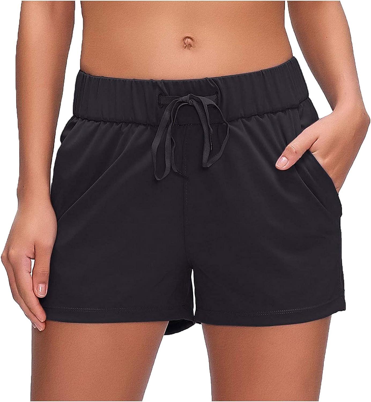 Womens Cotton Linen Sale Shorts Lace Drawstring Casual Elastic Comfy Cheap bargain