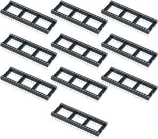 Gimax BIFI-10 x 40 Pin DIP/DIL Turned Pin IC Socket Connector 0.6inch Pitch