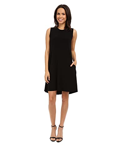 KAMALIKULTURE by Norma Kamali Sleeveless Swing Dress (Black) Women