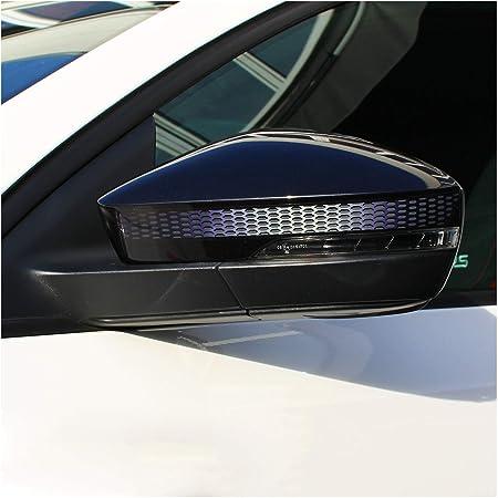 Cobella Auto Streifen Dekor Rückspiegel Aufkleber Diy Karosseriestreifen Rot 2 Stück Küche Haushalt