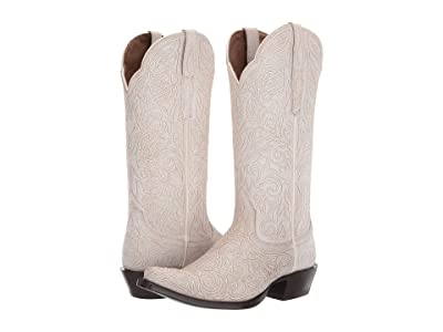Ariat Sterling (Crackled White) Cowboy Boots