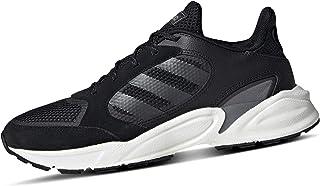 adidas 90S Valasion Women's Running Shoe, Core Black/Night Metallic/Grey, 6.5 US