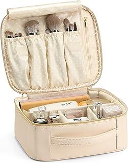 Vlando Large-Capacity Cosmetic Bag Travel Bag with Hooks, Waterproof Cosmetic Bag Accessories Travel Storage Bag, Cosmetic...