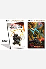 Inferno City Firehouse w/ Fire Dragon Poster (8 x 12) Perfect Paperback