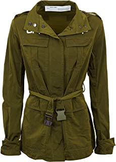 OFF-WHITE Luxury Fashion Womens OWEL003R20H140944301 Green Outerwear Jacket | Spring Summer 20