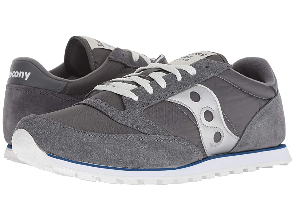 Saucony Originals Jazz Low Pro (Grey/Blue/Silver) Men