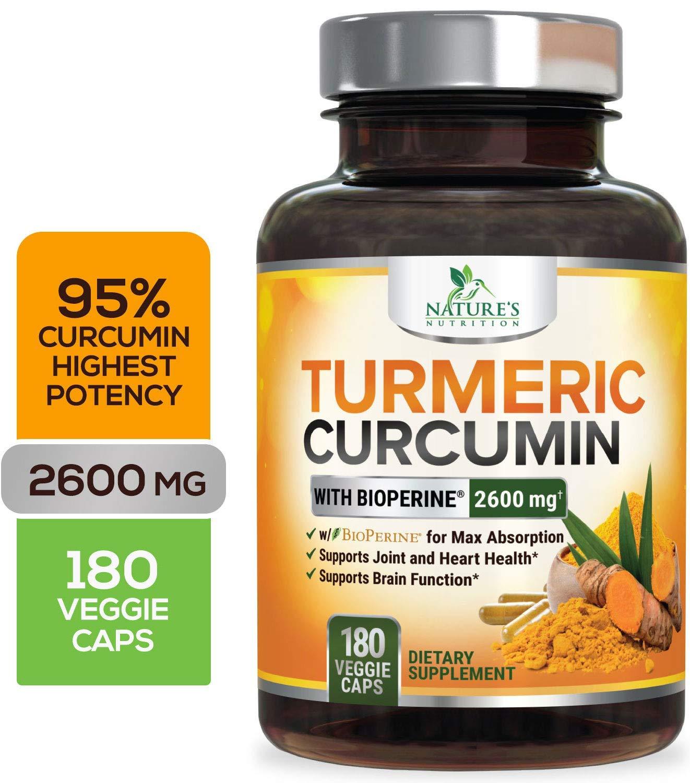 Curcuminoids Bioperine Absorption Natures Nutrition