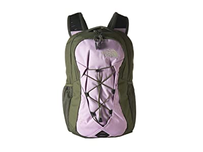 The North Face Jester Backpack (Four Leaf Clover/Orchid Bouquet) Backpack Bags
