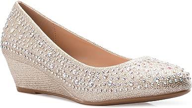 fancy wedge shoes