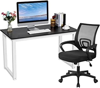 YAHEETECH Home Office Furniture Sets, Desk and Chair Set,...