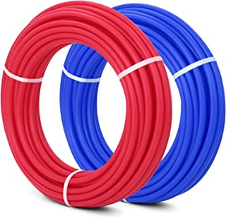 Happybuy PEX Pipe 2 Rolls of 1/2 Inch X 100 Feet Flexible Water Pipe Tubing Potable Water Pex Tubing