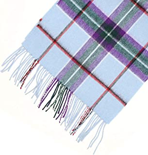Highlander Lambswool Tartan Scarf - World Peace