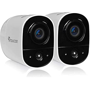 TOUCAN Rechargeable Battery-Powered Wireless Outdoor Security Camera 2021