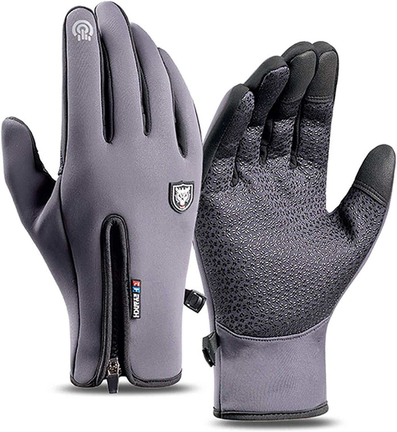 Winter Gloves for Men Women Touch Screen Cold Weather Thermal Warm Gloves